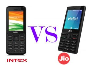 Intex Turbo+4G VS Reliance JioPhone
