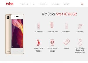 Airtel Offers Celkon Smart 4G Phone
