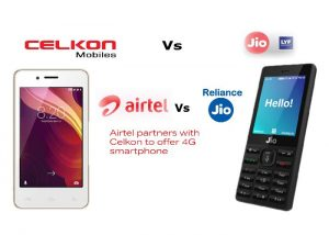 Reliance JioPhone Vs Celkon Smart 4G Phone