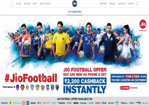 Reliance Jio Football Offer