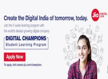 Reliance Jio Digital Champions Program