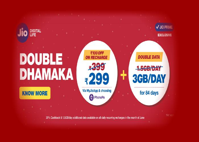 Double Dhamaka Offer Poster
