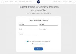 Hungama Offer Registration