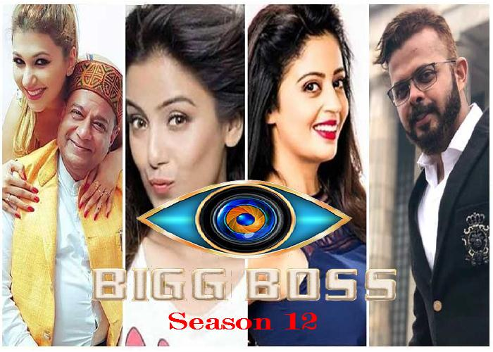 Bigg Boss Season 12 Contestants
