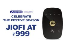 JioFi M2S Celebrate The Festive Season Poster