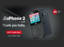 JioPhone 2 Next Flash Sale