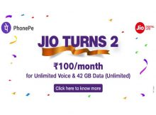 Reliance Jio Offers Jio Turns 2
