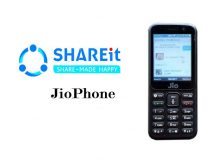 SHAREit Application On JioPhone