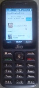 SHAREit in JioPhone