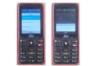 Upgrade JioPhone Operating Syestem