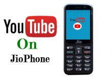 YouTube On JioPhone