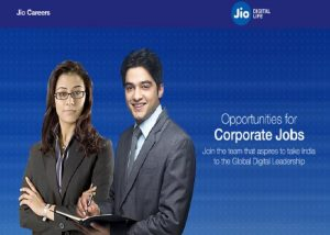 Reliance Jio Invites Job Notification