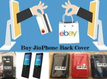Jiophone Back cover