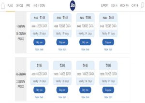Reliance Jio 50 Rupees Less and 50% More Data Benifits Plans